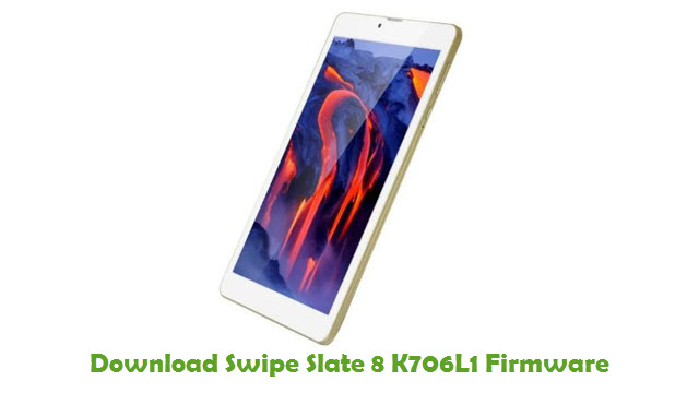 Swipe Slate 8 K706L1 Stock ROM