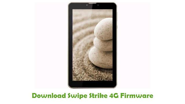 Download Swipe Strike 4G Firmware