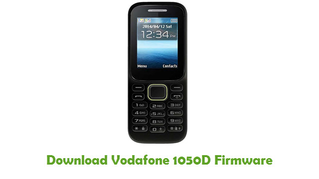 Download Vodafone 1050D Stock ROM
