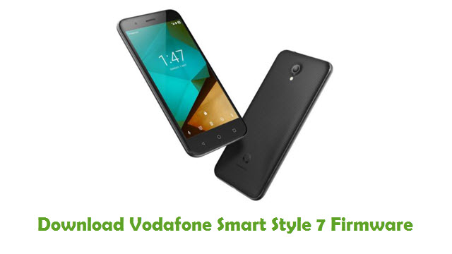 Vodafone Smart Style 7 Stock ROM