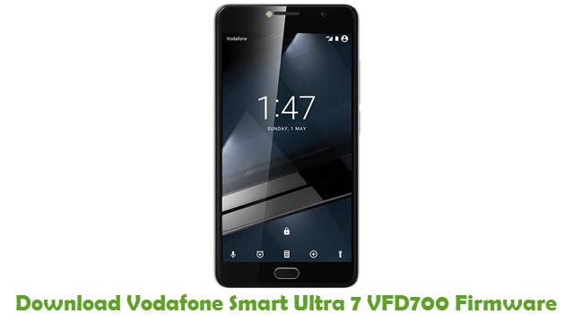 Vodafone Smart Ultra 7 VFD700 Stock ROM