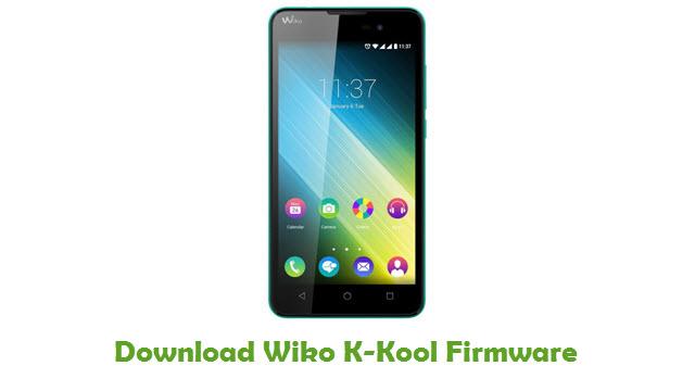 Download Wiko K-Kool Stock ROM