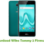 Wiko Tommy 2 Firmware