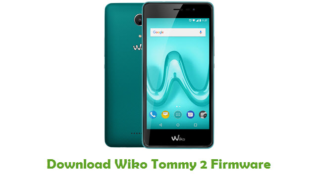 Wiko Tommy 2 Stock ROM