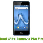 Wiko Tommy 2 Plus Firmware