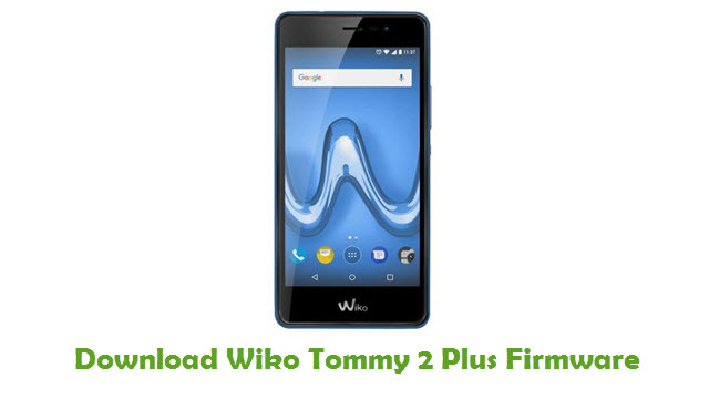 Wiko Tommy 2 Plus Stock ROM