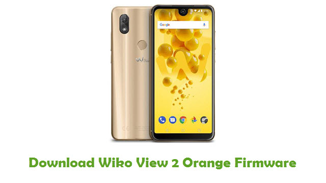 Wiko View 2 Orange Stock ROM