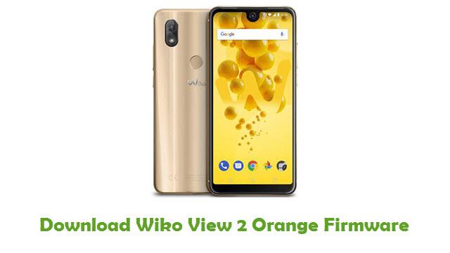Download Wiko View 2 Orange Stock ROM