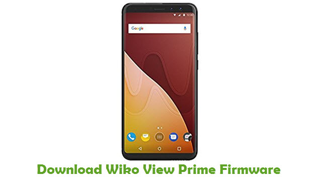 Wiko View Prime Stock ROM