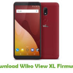 Wiko View XL Firmware