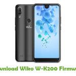Wiko W-K200 Firmware