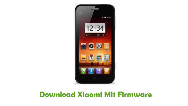 Download Xiaomi Mi1 Stock ROM