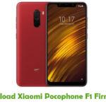 Xiaomi Pocophone F1 Firmware
