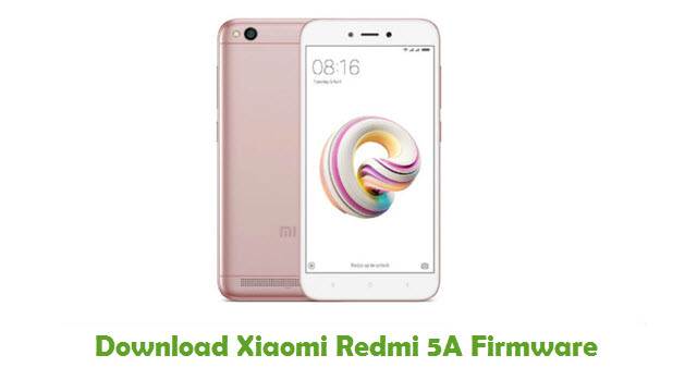 Download Xiaomi Redmi 5A Firmware