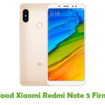 Xiaomi Redmi Note 5 Firmware