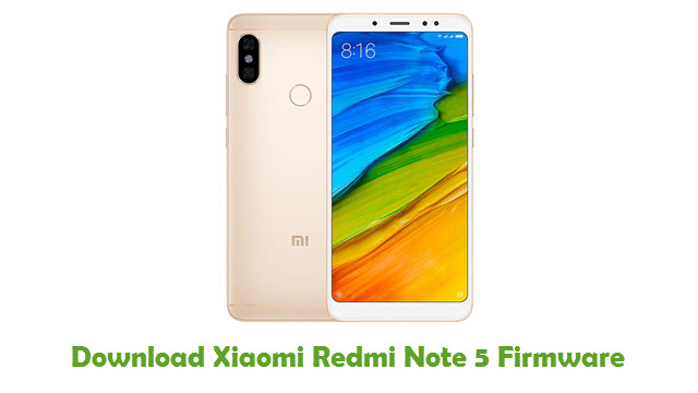 Download Xiaomi Redmi Note 5 Firmware