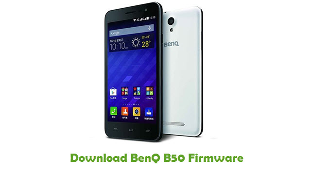 BenQ B50 Stock ROM