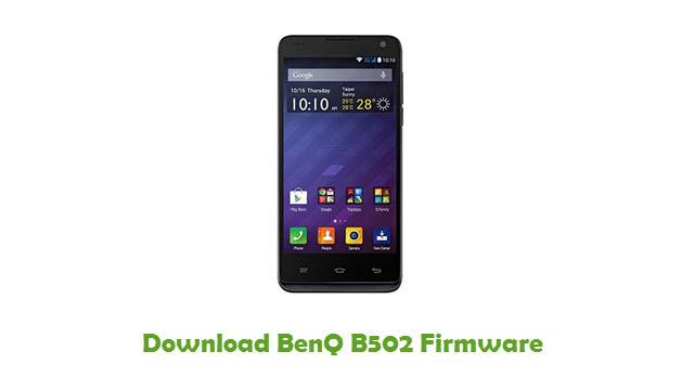BenQ B502 Stock ROM