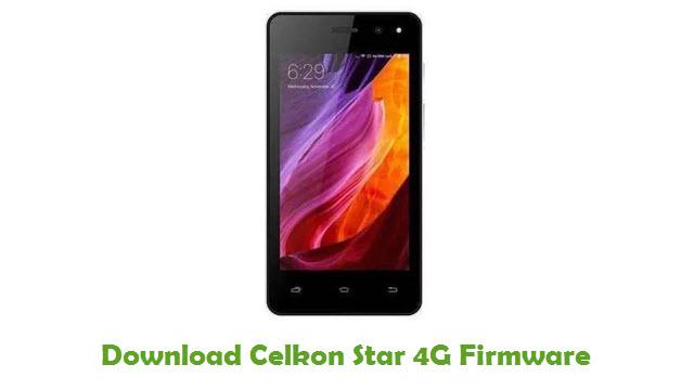 Download Celkon Star 4G Firmware