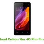 Celkon Star 4G Plus Firmware