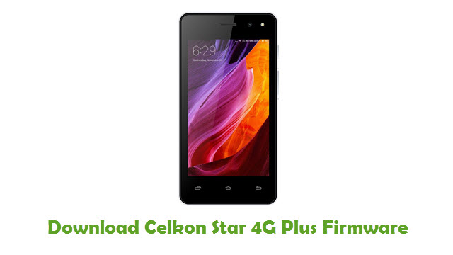 Download Celkon Star 4G Plus Firmware