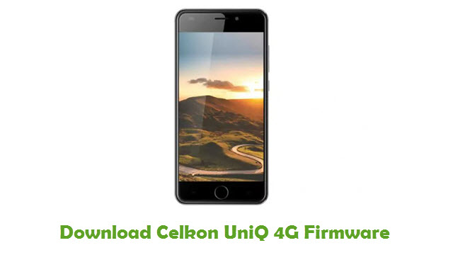 Download Celkon UniQ 4G Firmware