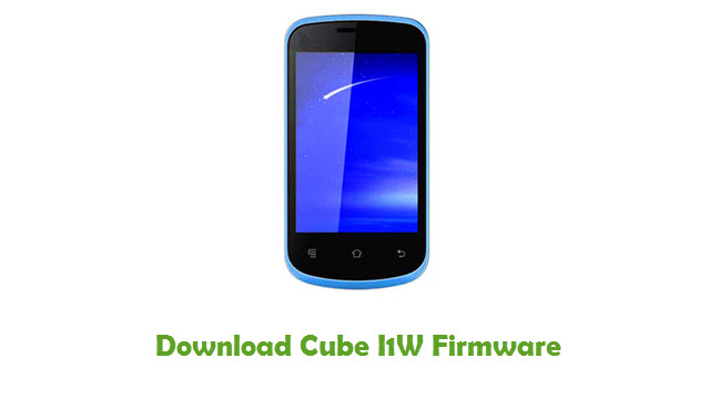 Download Cube I1W Firmware