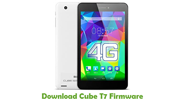 Download Cube T7 Firmware