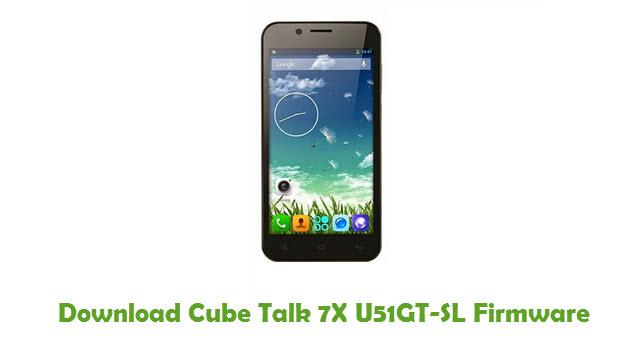 Download Cube Talk 7X U51GT-SL Firmware