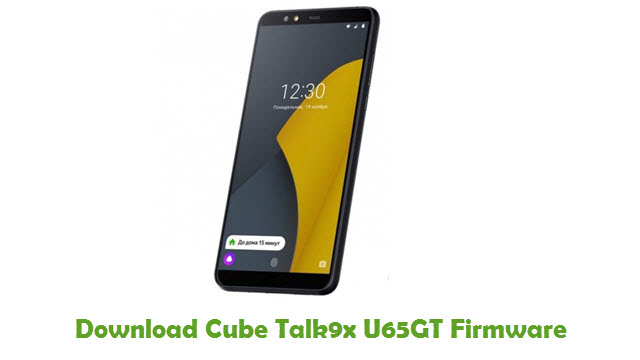 Download Cube Talk9x U65GT Firmware