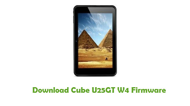Download Cube U25GT W4 Firmware