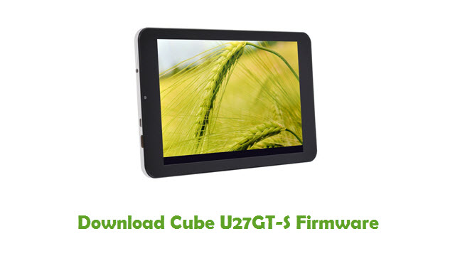 Download Cube U27GT-S Firmware