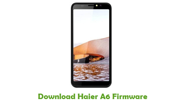 Download Haier A6 Firmware