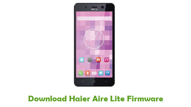 Download Haier Aire Lite Firmware