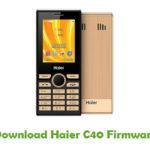 Haier C40 Firmware