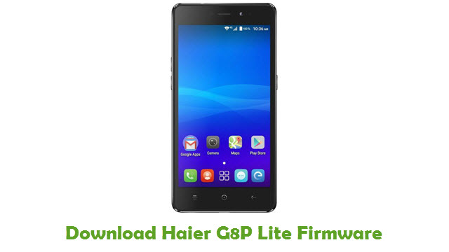 Download Haier G8P Lite Firmware