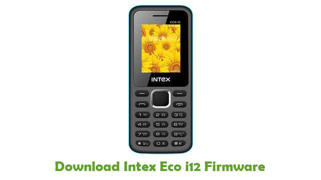 Download Intex Eco i12 Firmware