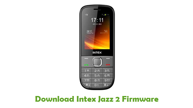 Download Intex Jazz 2 Firmware