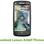 Lenovo A208T Firmware