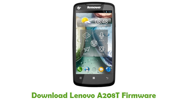 Download Lenovo A208T Firmware