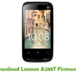 Lenovo A288T Firmware