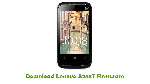 Download Lenovo A288T Firmware