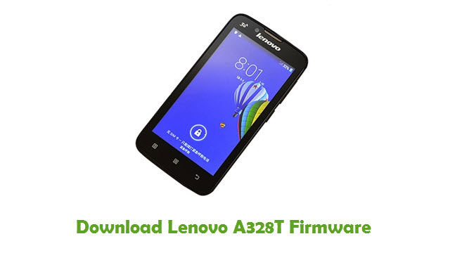 Download Lenovo A328T Stock ROM