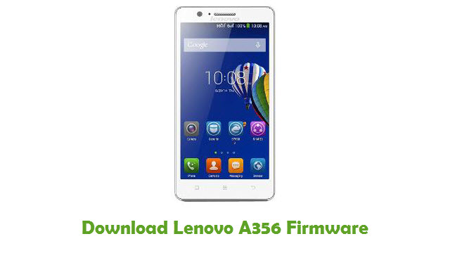 Download Lenovo A356 Stock ROM