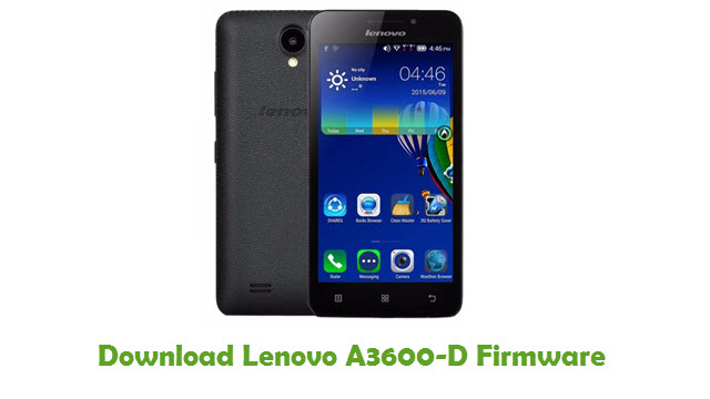 Download Lenovo A3600-D Firmware