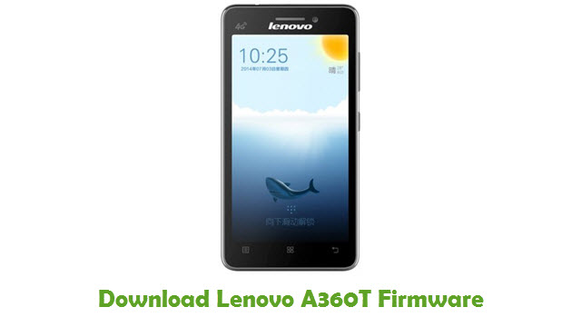 Download Lenovo A360T Stock ROM