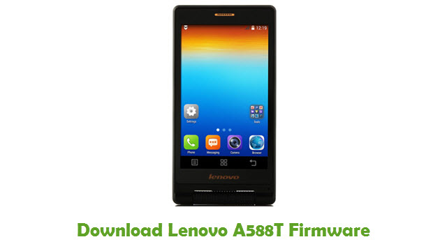 Download Lenovo A588T Stock ROM