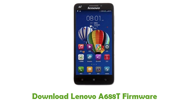 Download Lenovo A688T Stock ROM