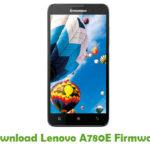 Lenovo A780E Firmware