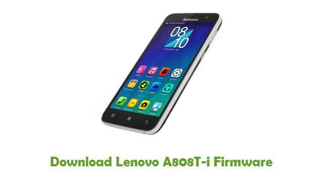 Lenovo A808T-i Stock ROM
